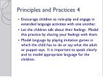 principles and practices 413