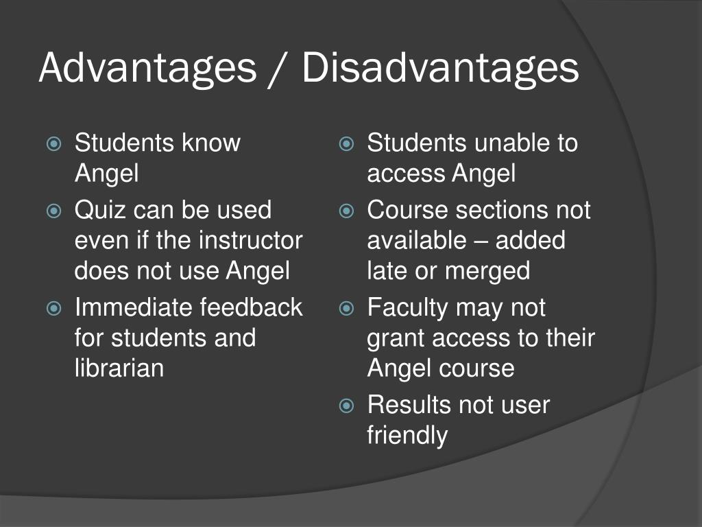 Students know Angel