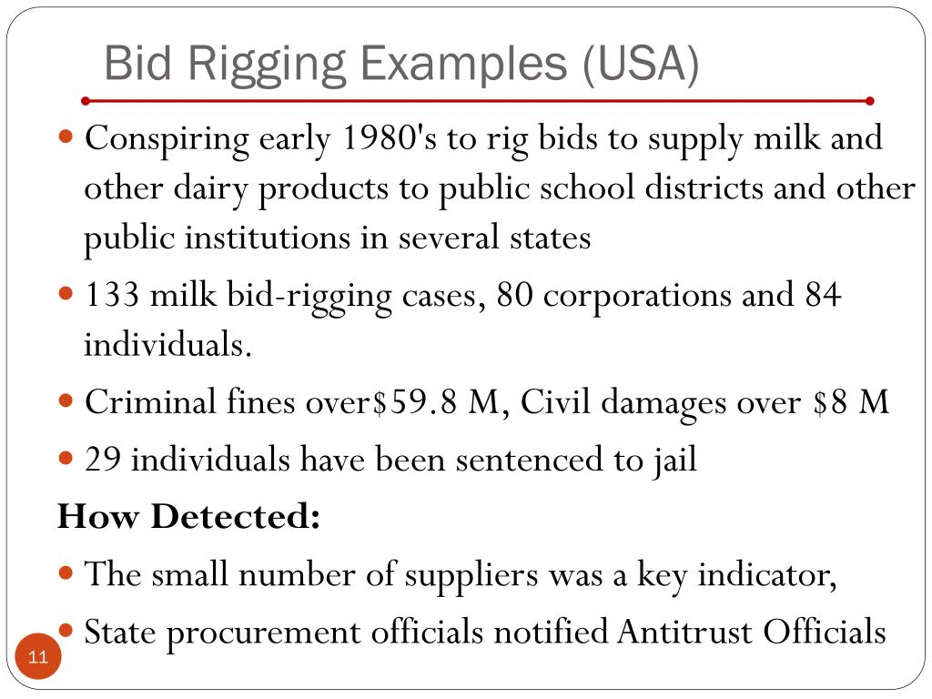 Ppt Detecting Bid Rigging Powerpoint Presentation Free Download Id 216444