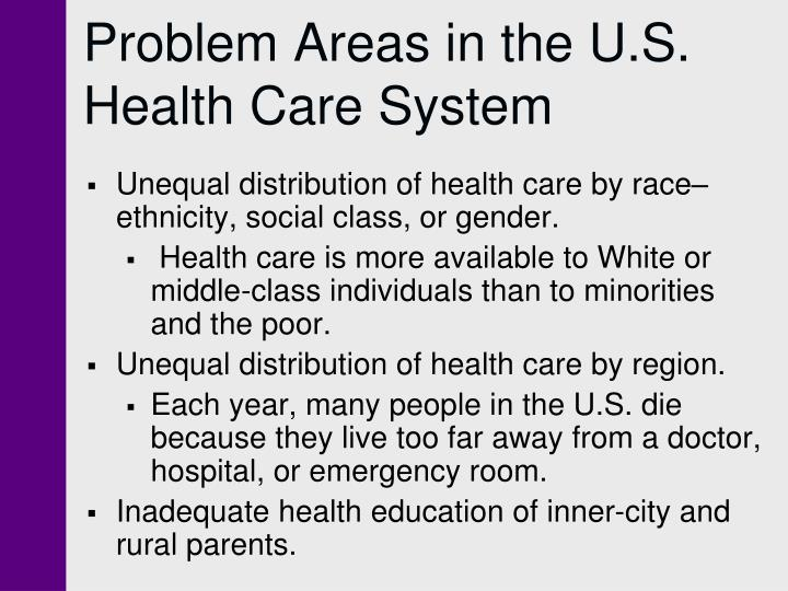 social class unequal distribution of healthcare Social class and ideologies of inequality: their society as unequal effectively, social class and system perceptions of unequal wealth distribution as.