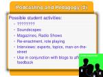 podcasting and pedagogy 2