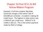 chapter 33 post 9 11 gi bill yellow ribbon program