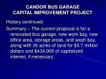candor bus garage capital improvement project16