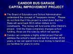 candor bus garage capital improvement project30