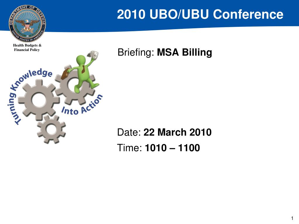 briefing msa billing l.