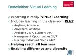 redefinition virtual learning