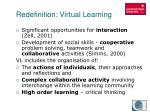 redefinition virtual learning2