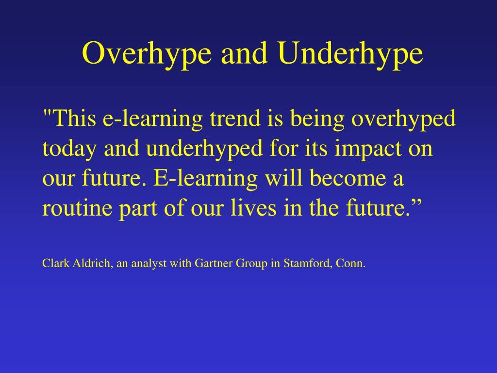 Overhype and Underhype