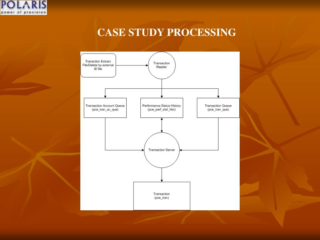 CASE STUDY PROCESSING
