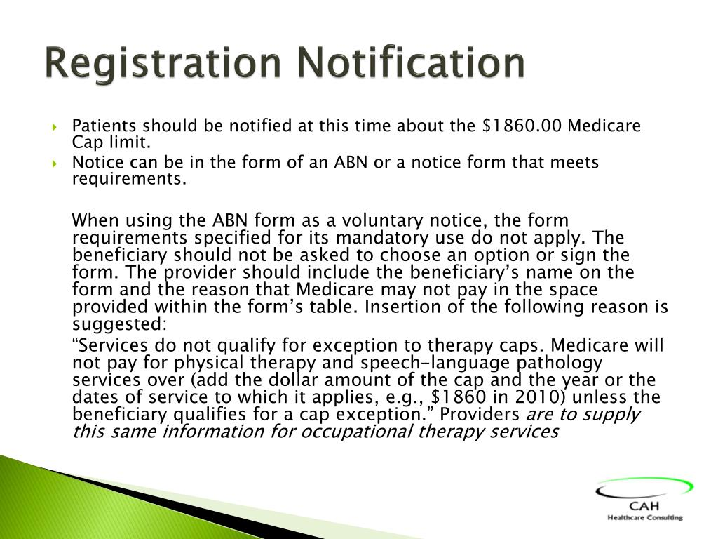 Registration Notification