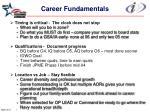 career fundamentals