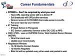 career fundamentals19