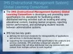 ims instructional management system global learning consortium