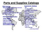 parts and supplies catalogs