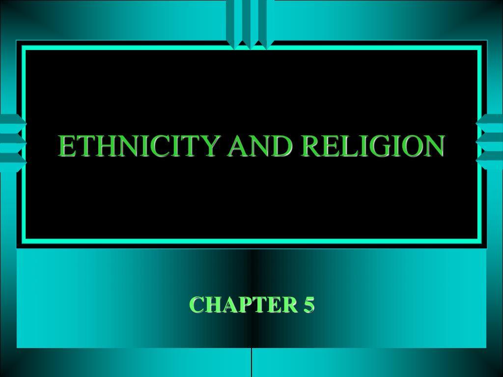 ethnicity and religion l.