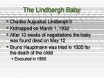 the lindbergh baby