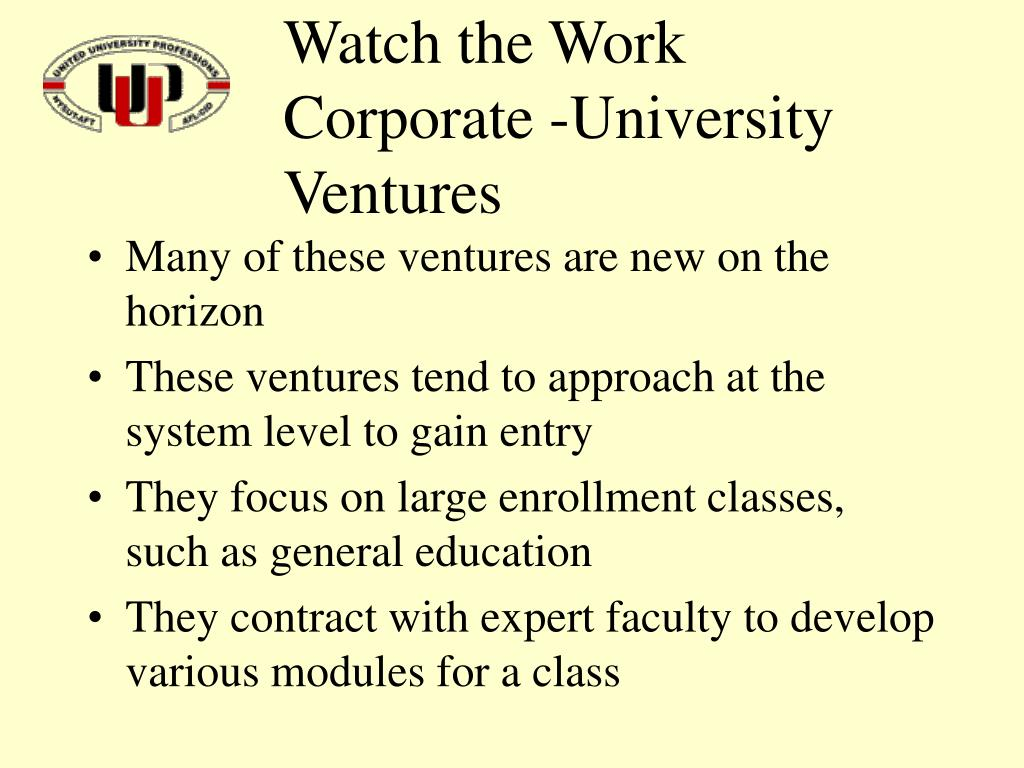 Watch the Work