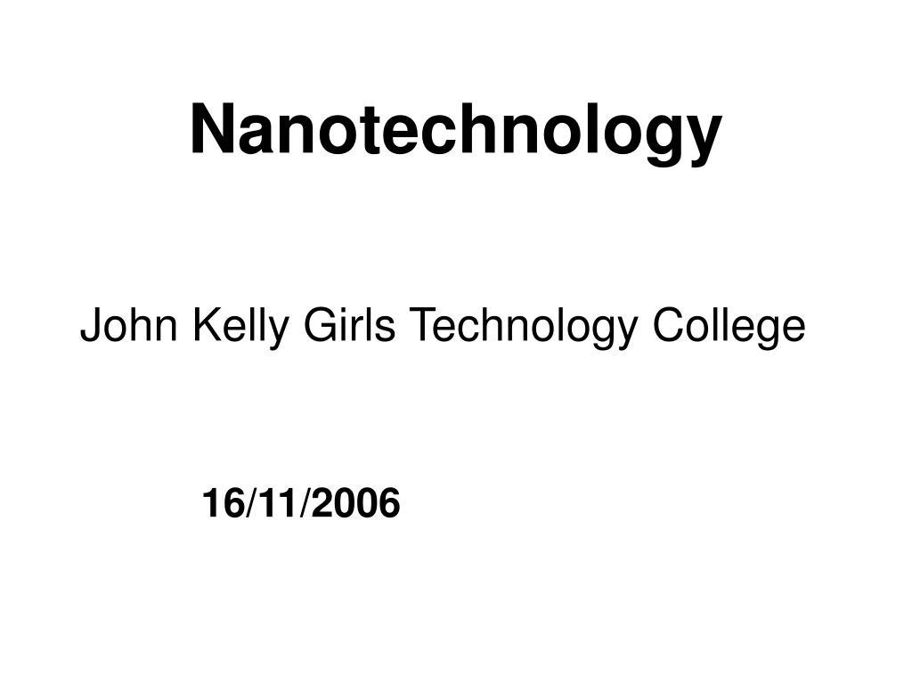 nanotechnology l.