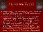 it is well with my soul6