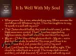 it is well with my soul7