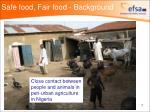 safe food fair food background7