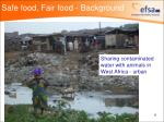 safe food fair food background8