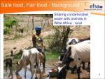 safe food fair food background9