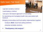 safe food fair food14
