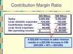 contribution margin ratio16