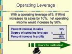 operating leverage46