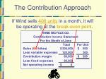 the contribution approach7