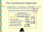the contribution approach8