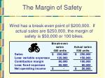 the margin of safety40