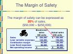 the margin of safety41