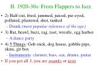 ii 1920 30s from flappers to jazz8