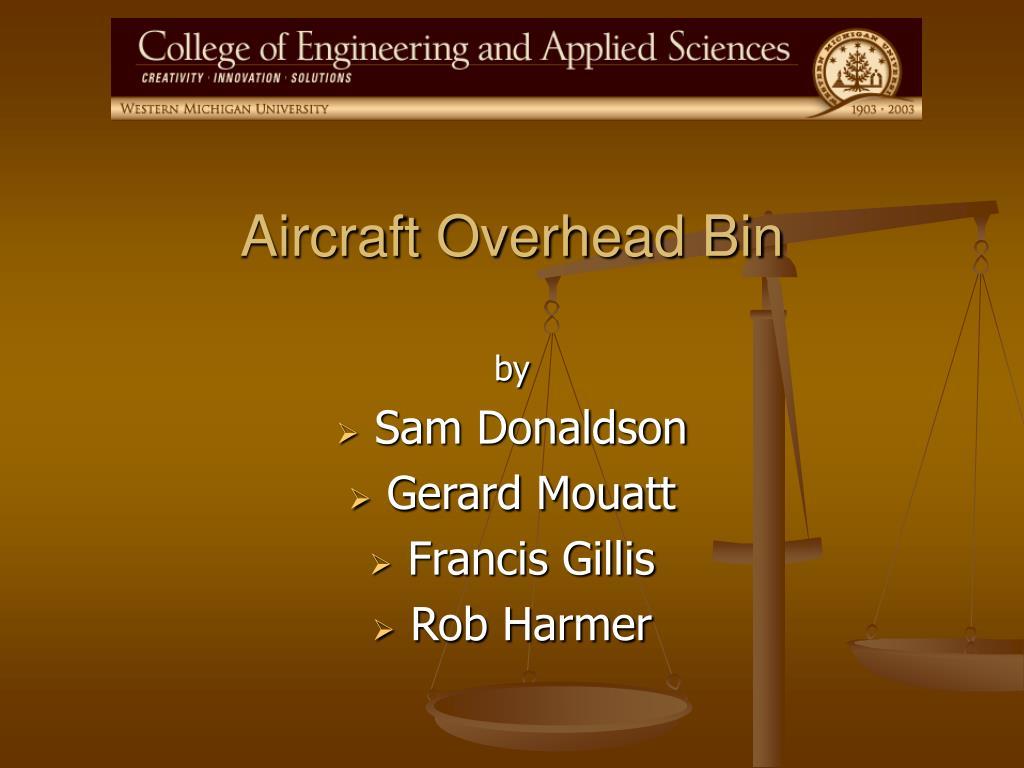 aircraft overhead bin l.