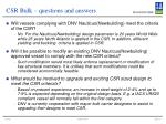 csr bulk questions and answers12