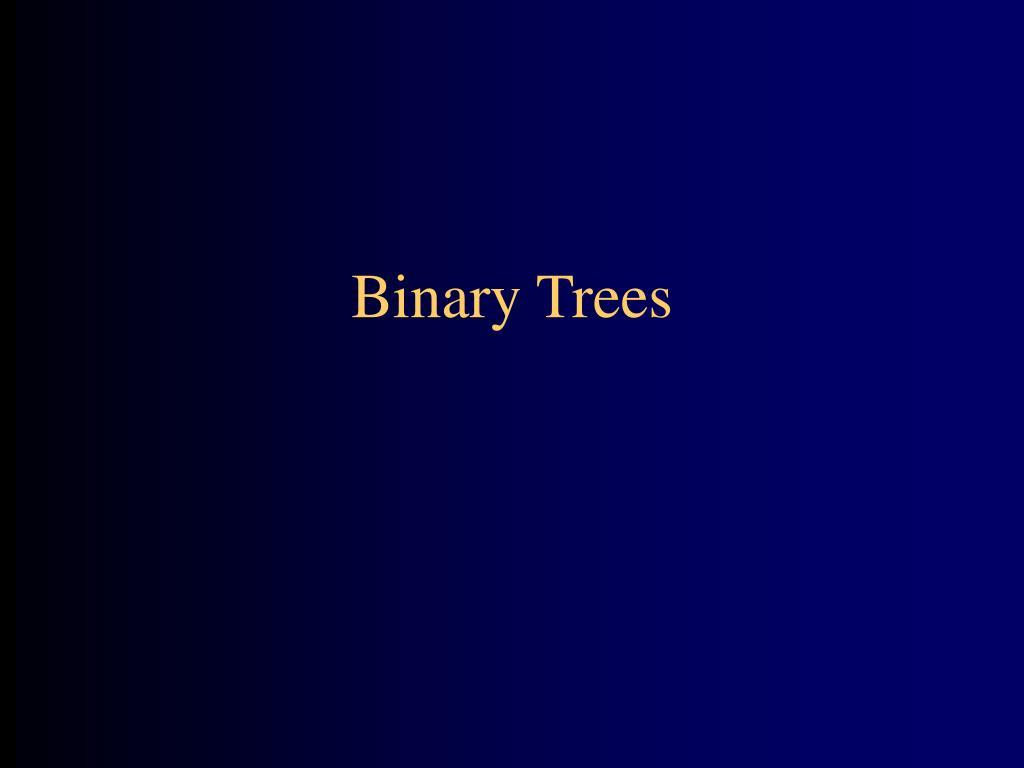 binary trees l.
