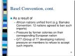 basel convention cont28