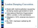 london dumping convention
