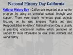 national history day california