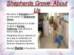 shepherds grove about us