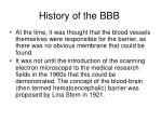 history of the bbb16