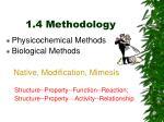 1 4 methodology