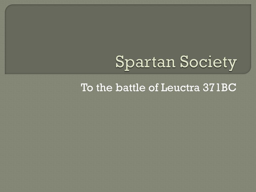 spartan society l.