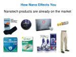 how nano effects you