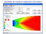 method of characteristics example