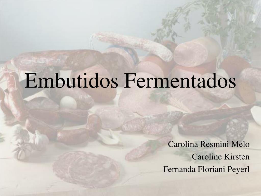 embutidos fermentados l.