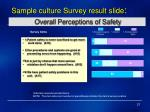 overall perceptions of safety