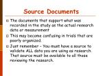 source documents24